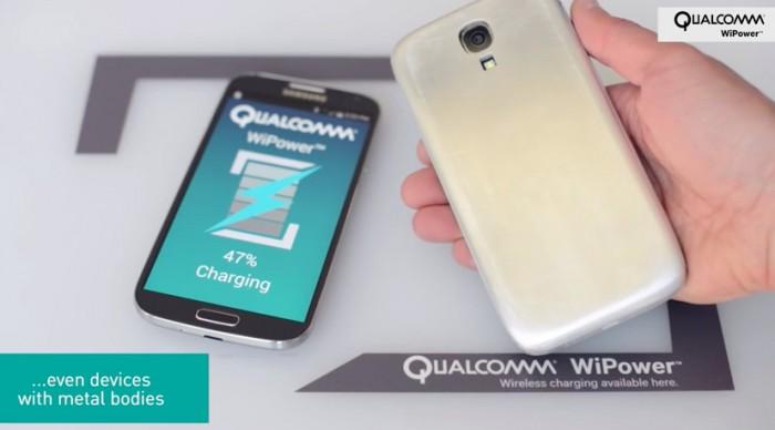 Qualcomm Wipower metal smartphones