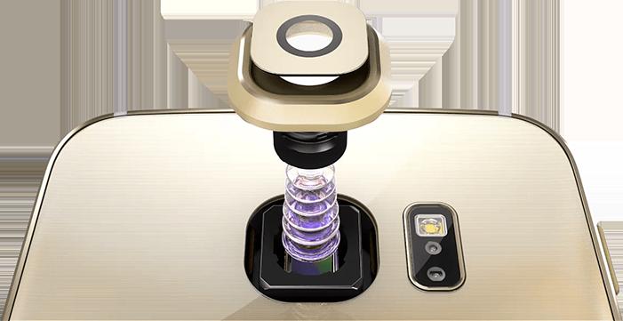 Sensor fotográfico del Galaxy S6 Edge
