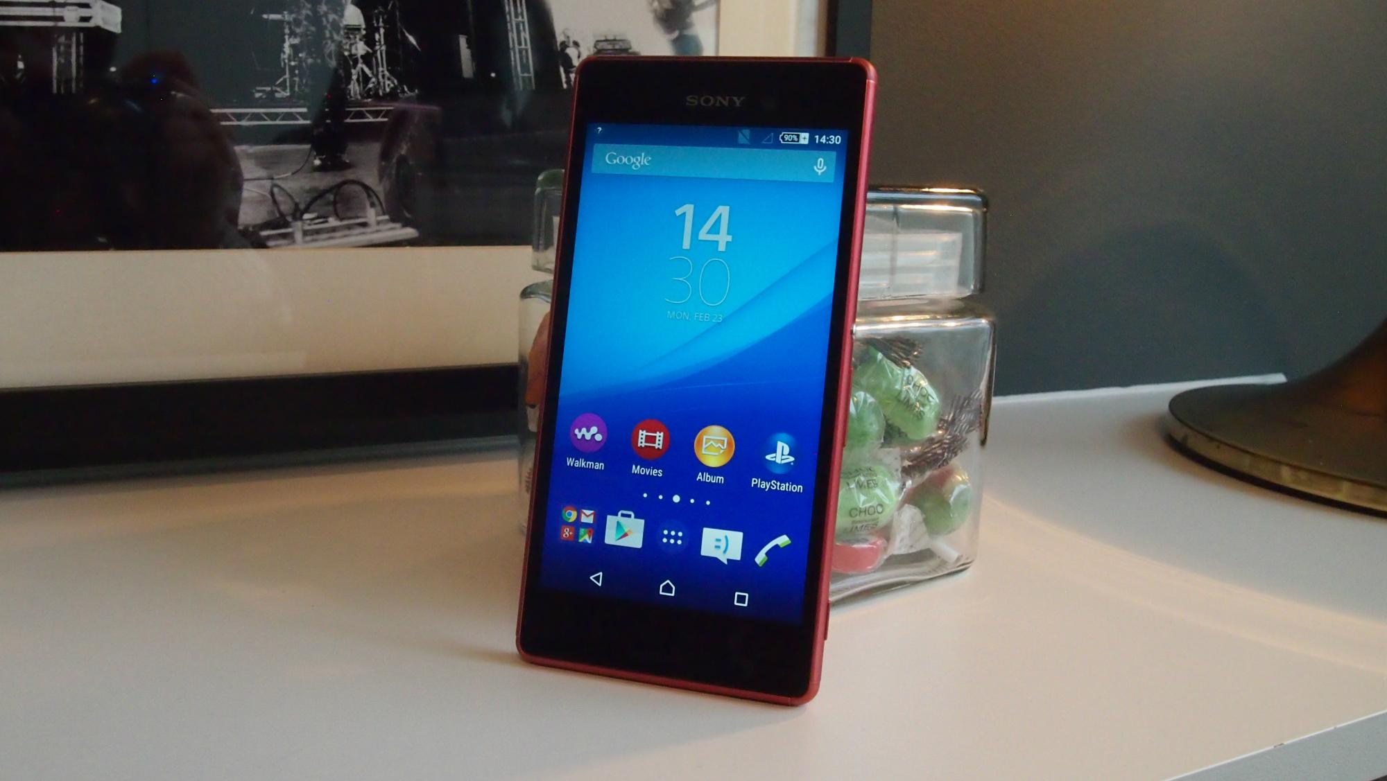 Sony Xperia Z4- Diseño en color rosa