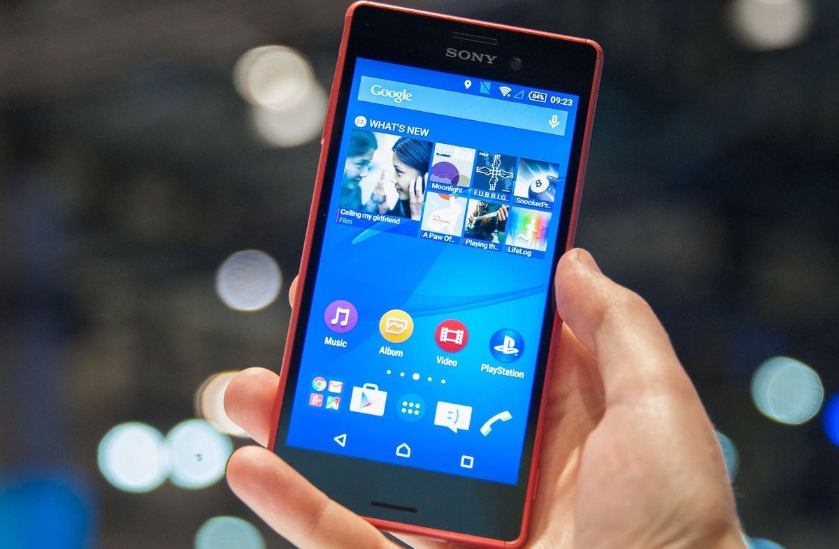 Sony Xperia M4 Aqua-Software