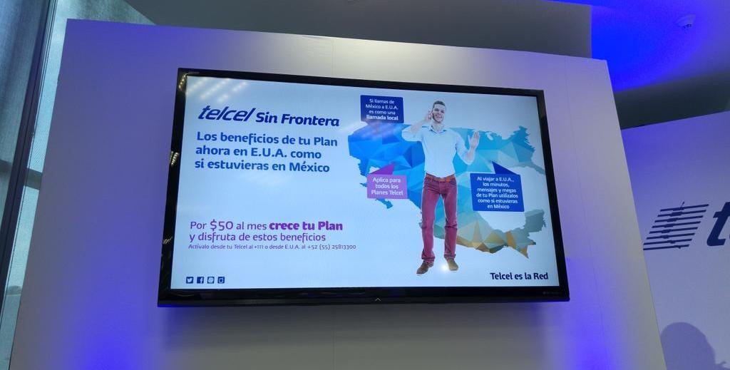 Telcel Sin Fronteras acaba con el roaming en Estados Unidos