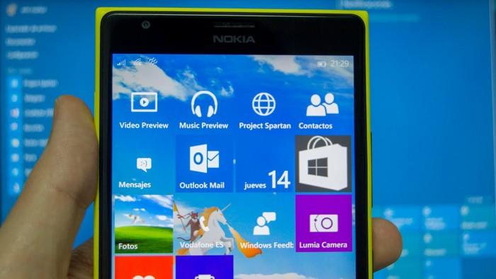 Windows 10 Mobile-Lumia 1520