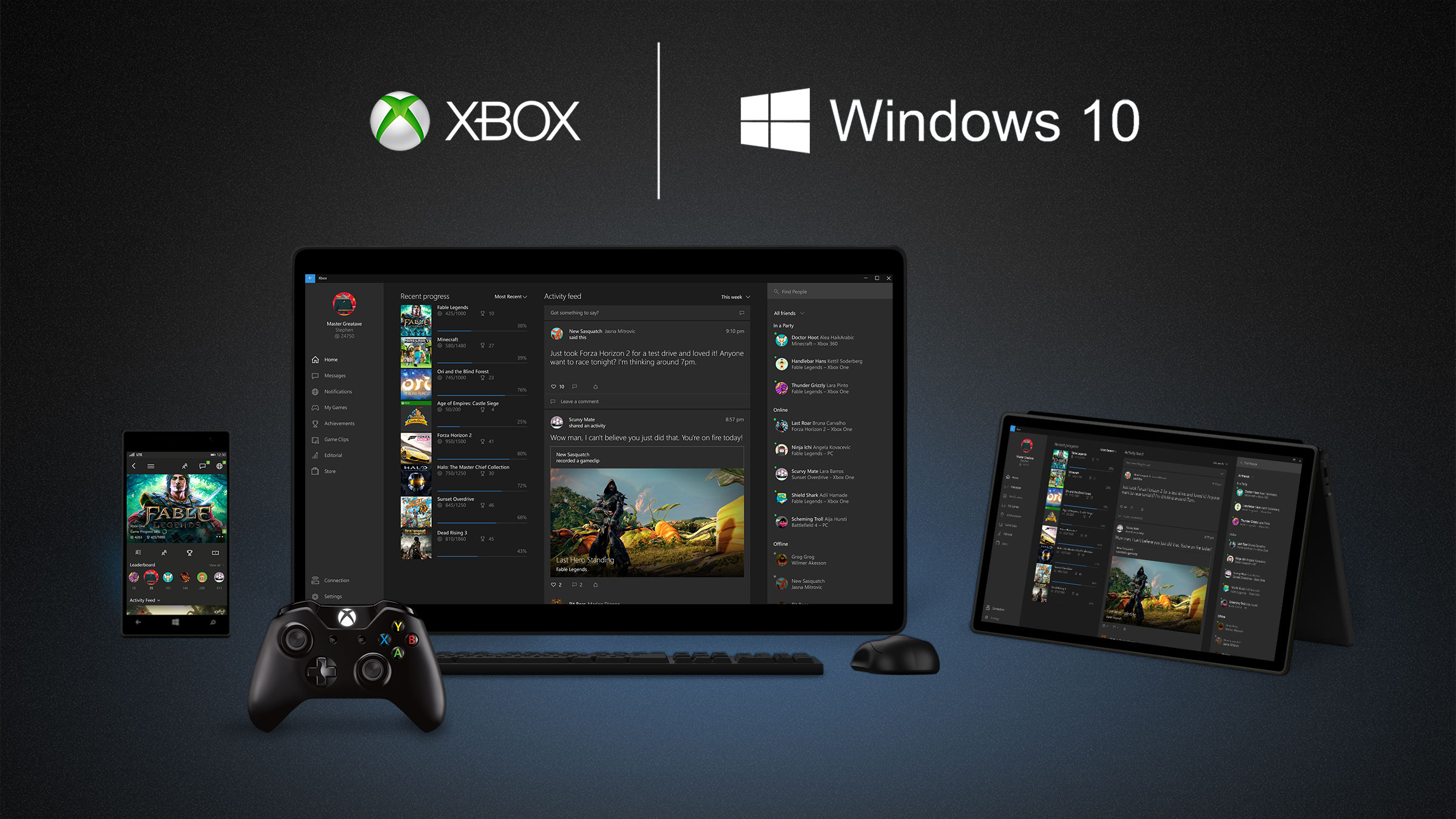 Xbox Streaming en Windows 10