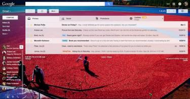 gmail temas