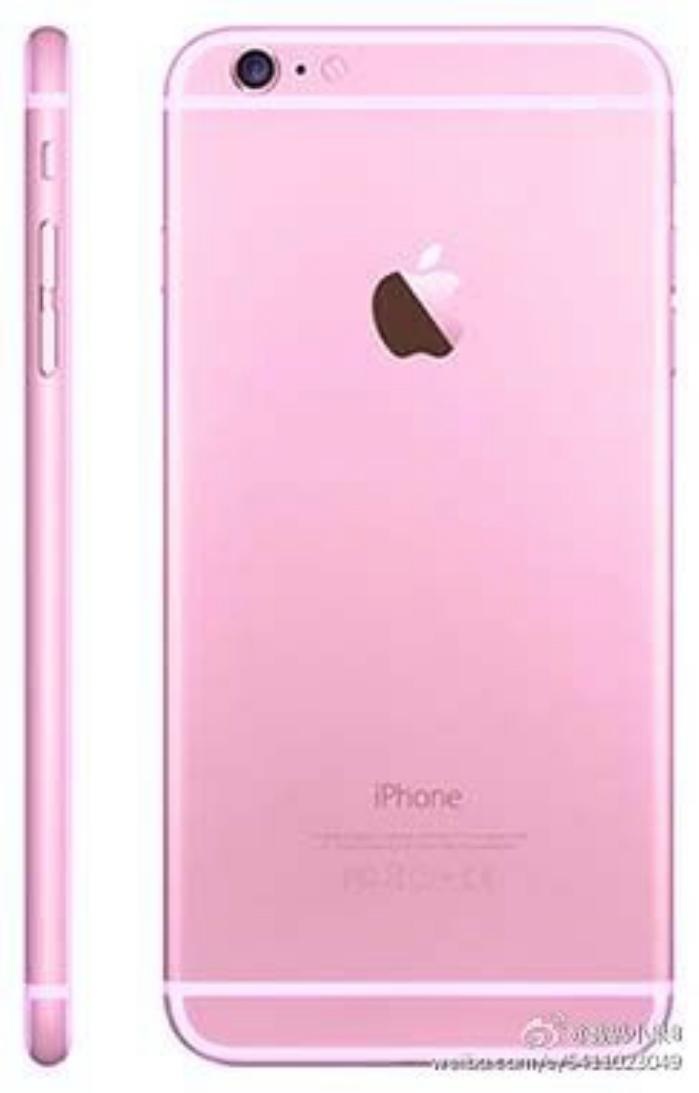 iphone 6s rosado7