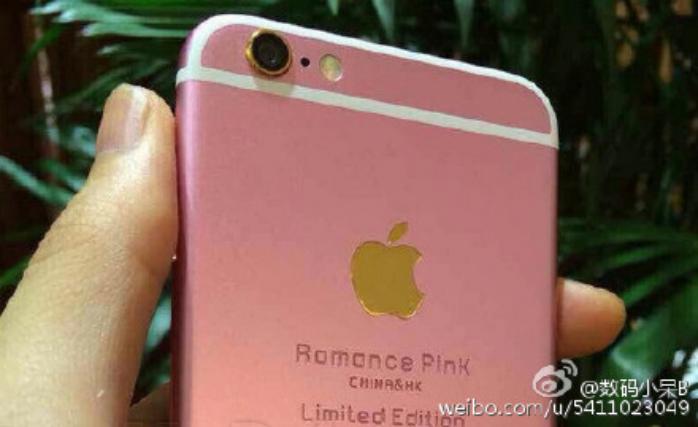 iphone 6s rosado8