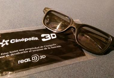 Lentes 3D polarizados, cortesía de nuestro querido lector