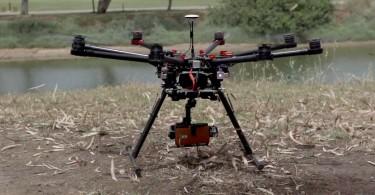lg g4 en dron