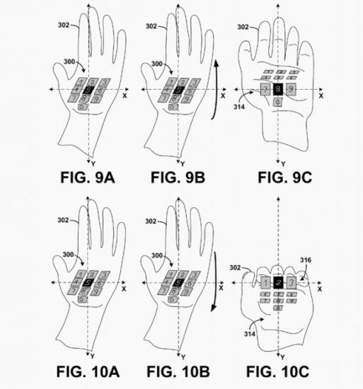 patente google trackpad