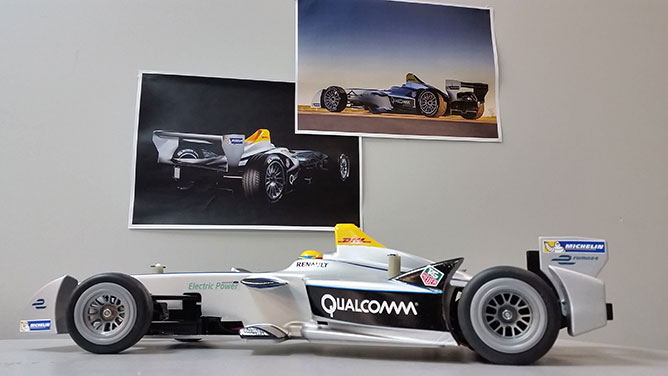 qualcomm mini formula e