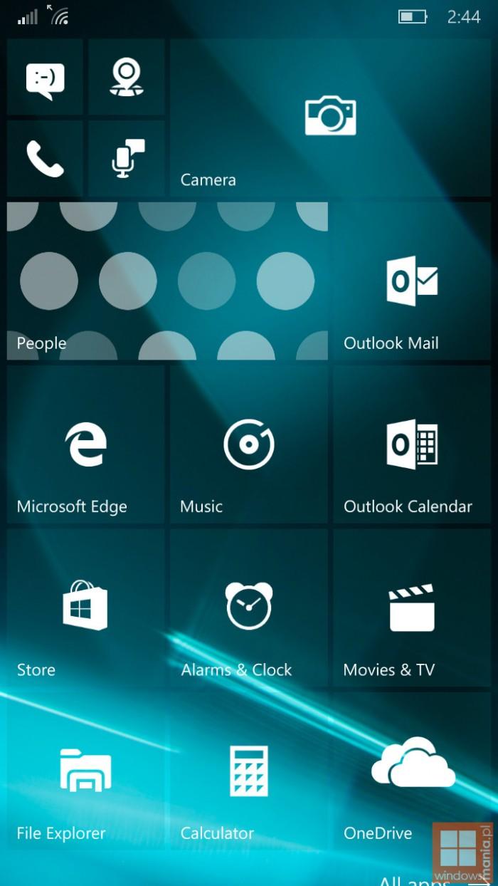 windows phone 10 mobile 10162 build