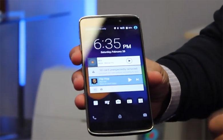Android 5.0.2 viene por default en el Idol 3