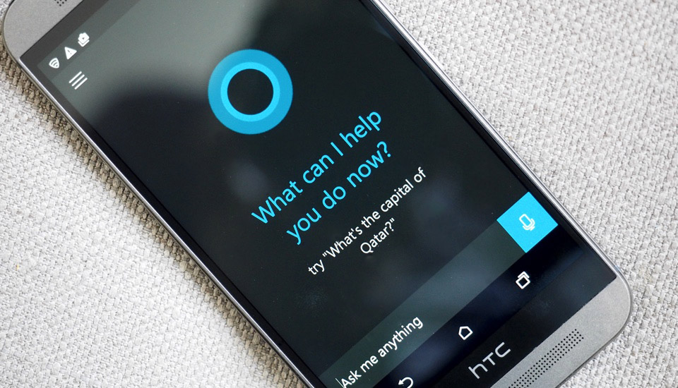 Cortana en Android con HTC One