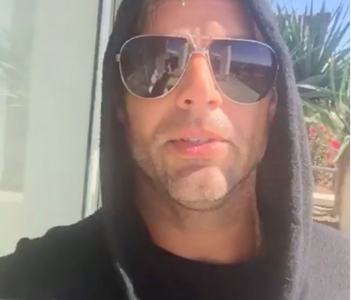 Facebook live-ricki martin