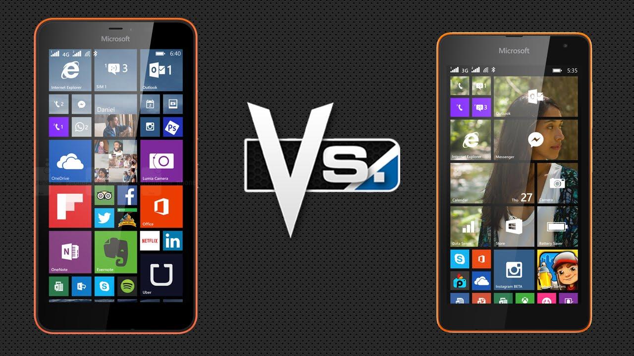 Recomendamos el Lumia™ 640 XL en ocasión del Lumia™ 535, pues únicamente aire $  500 de diferencia
