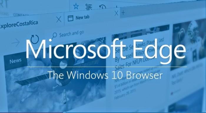 Microsoft Edge es el navegador por defecto en Windows 10