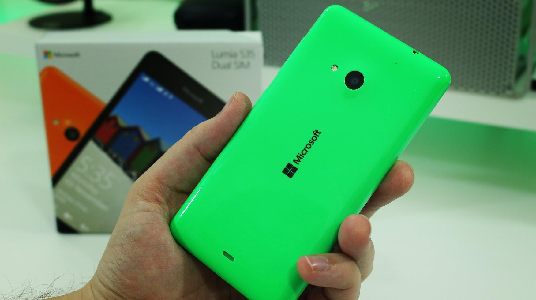 Microsoft Lumia™ 535 se da a $  2,499 pesos en México