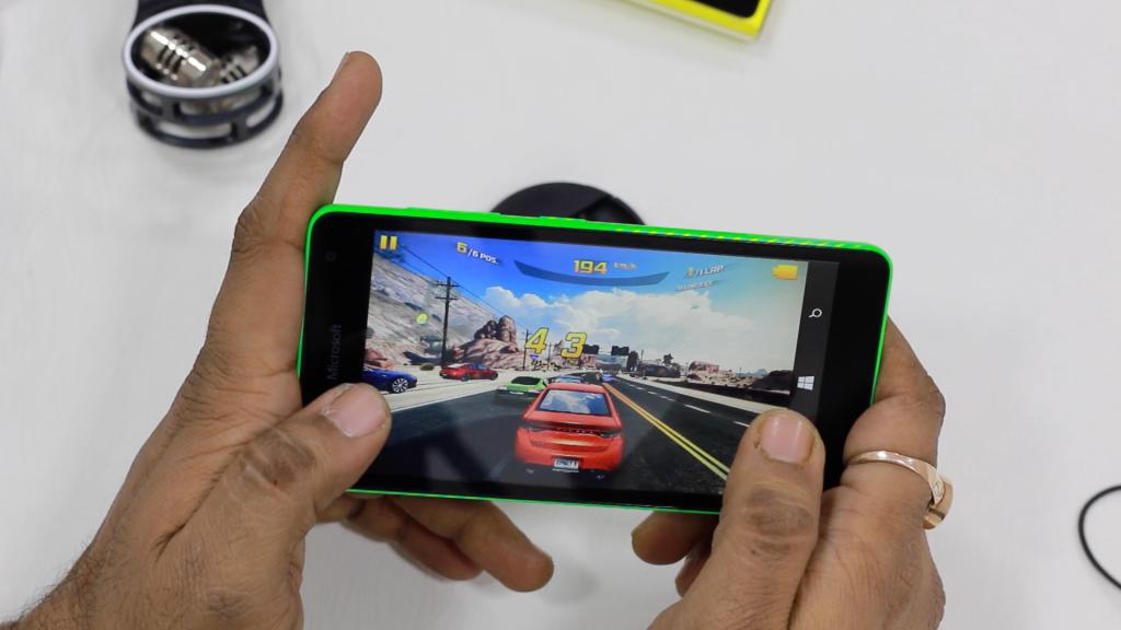 Lumia 535 presenta un buen utilidad