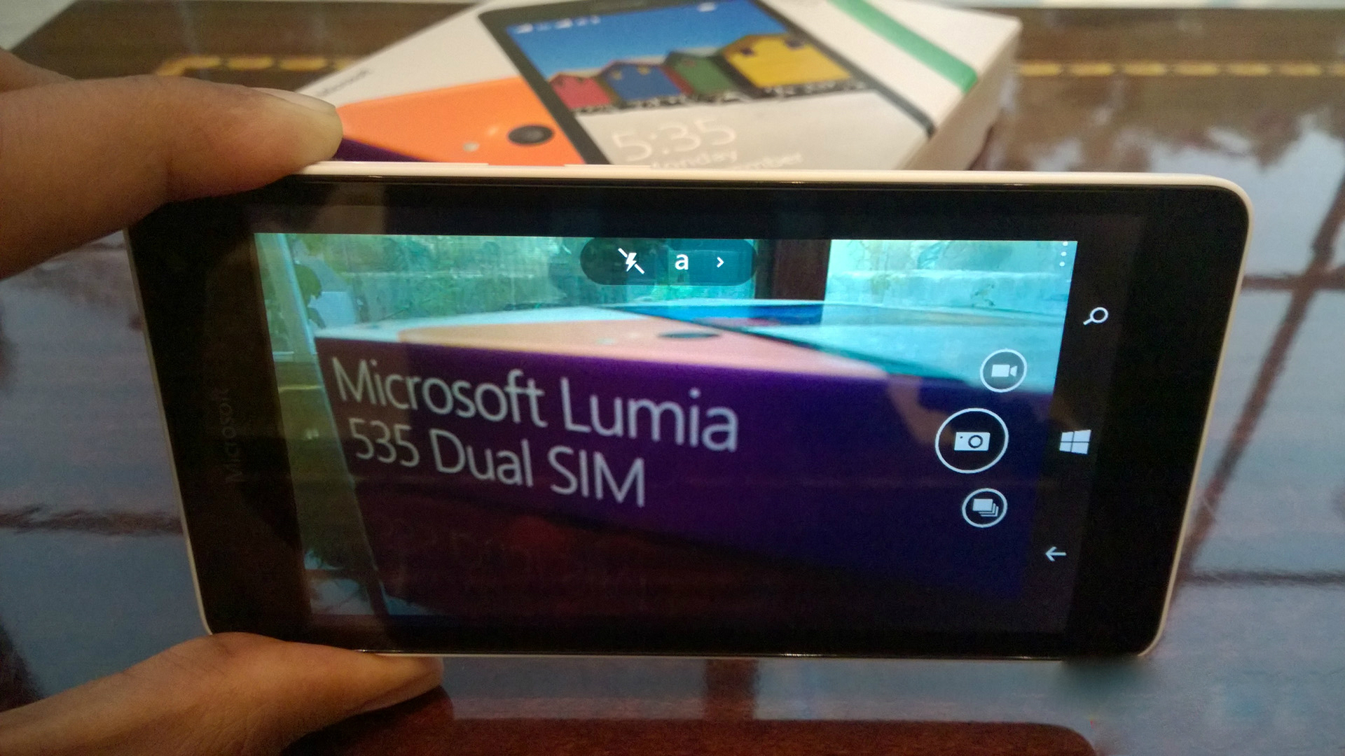 Lumia Camera 4 en el Lumia™ 535
