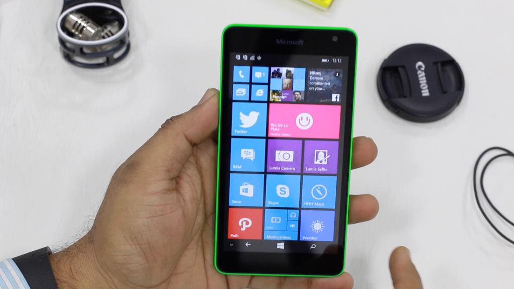 El touch del Lumia™ 535 es el gran talón de aquiles