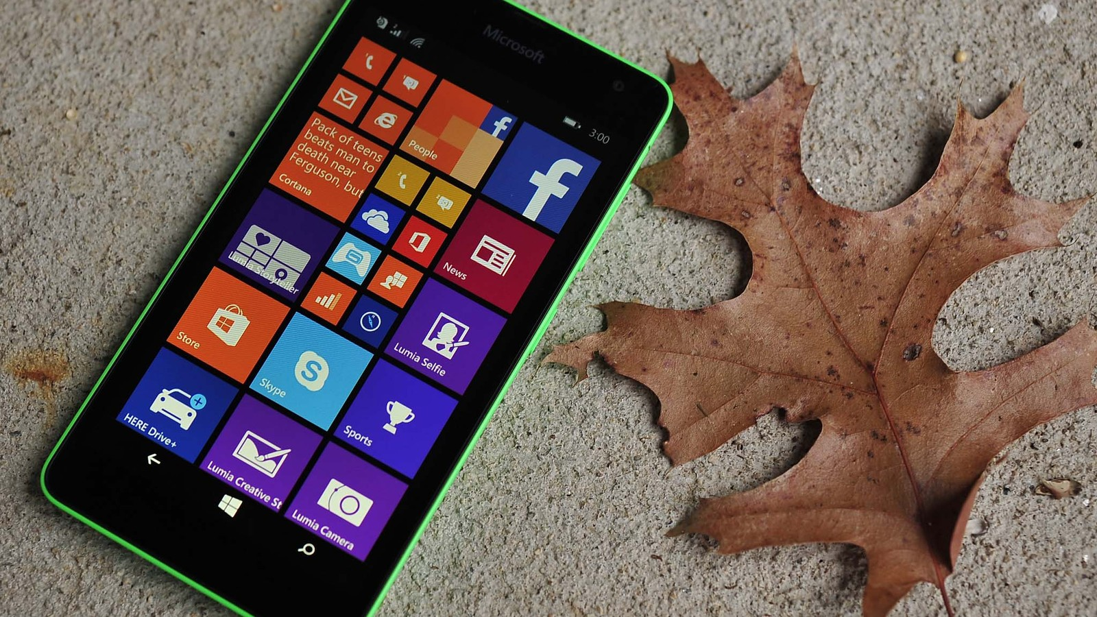 Windows Phone 8.1 Update 1 con Lumia™ Denim en el Lumia™ 535