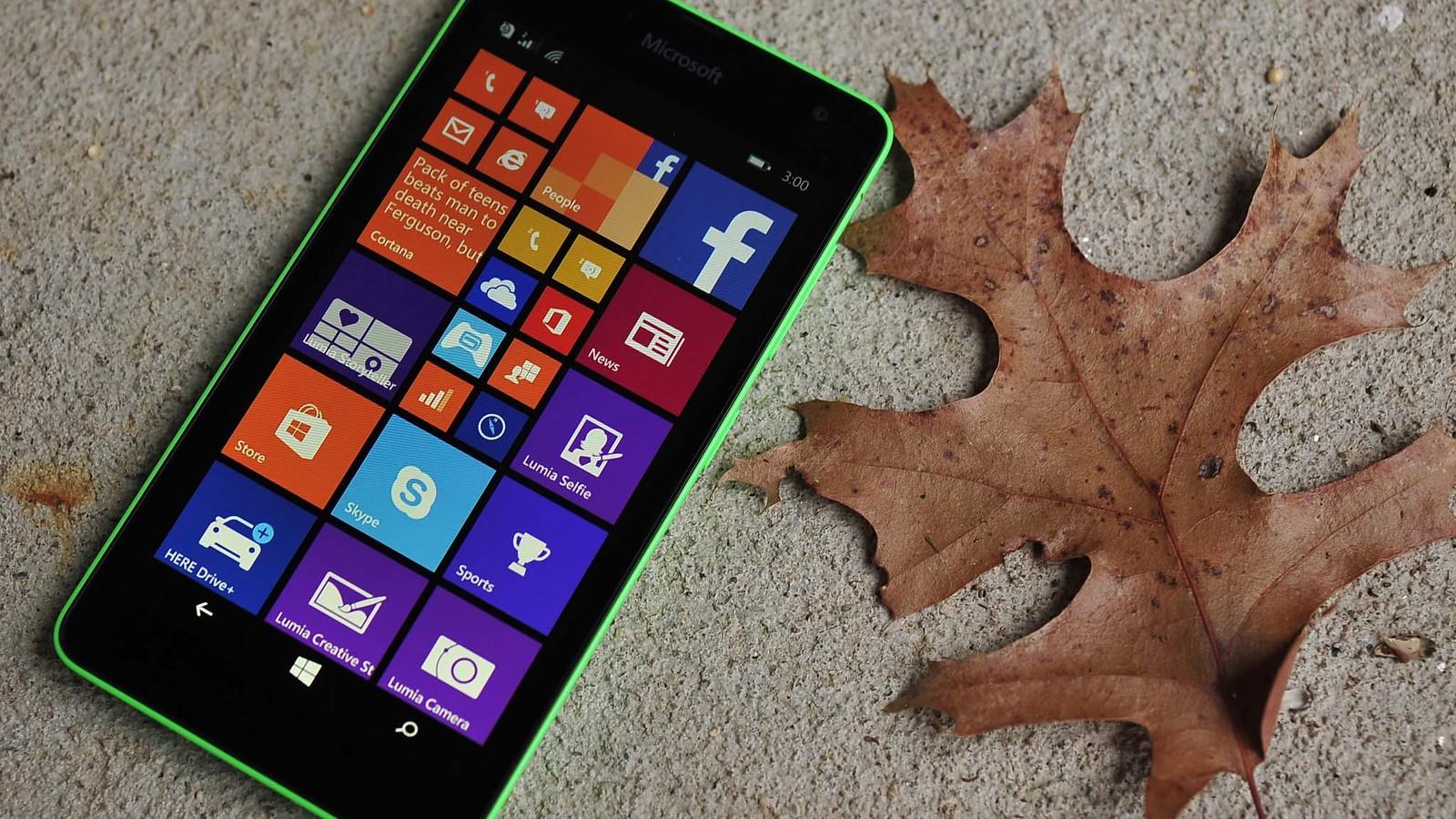 Windows Phone 8.1 Update 1 con Lumia™ Denim en el Lumia™ 535