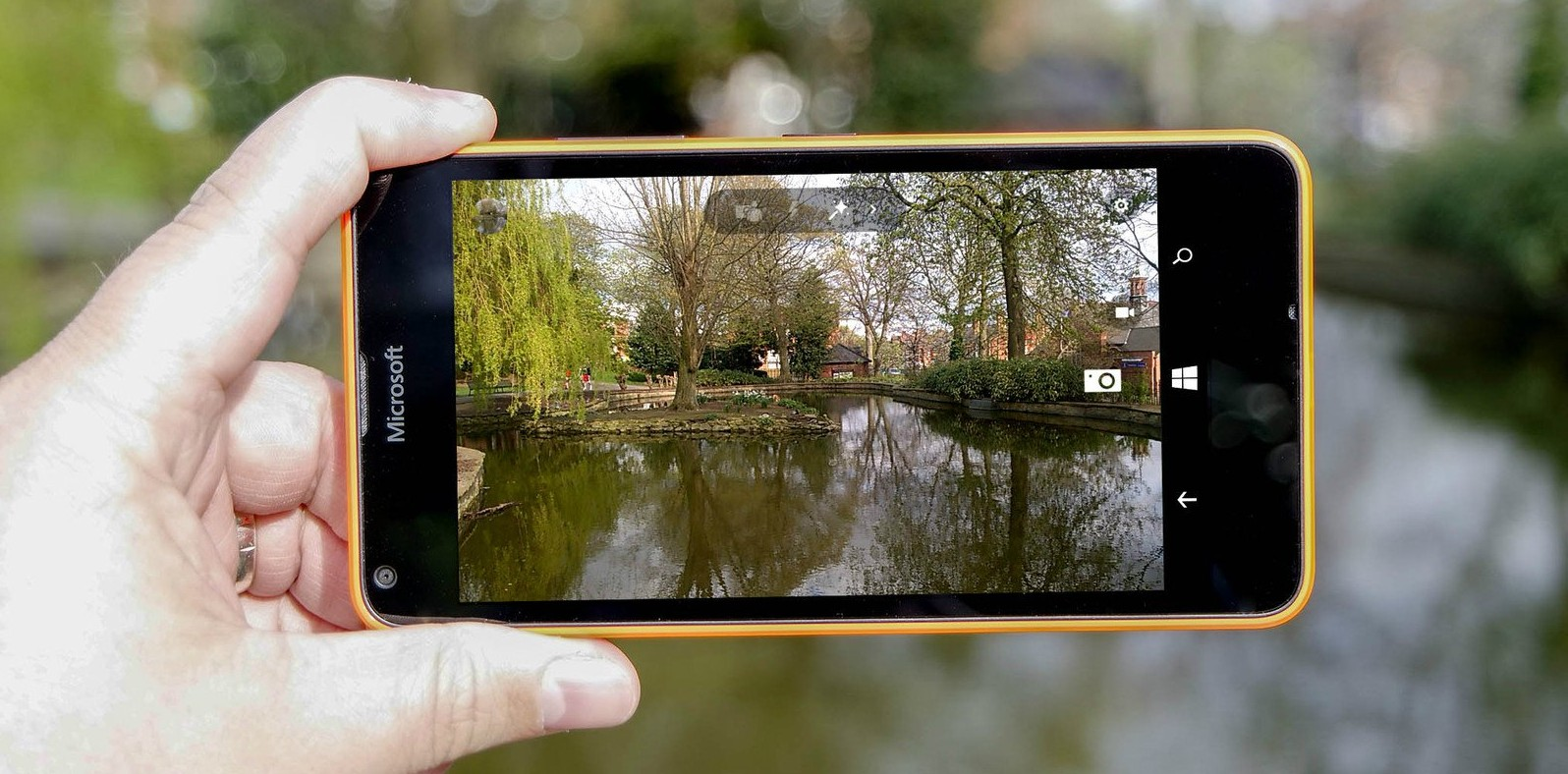 Lumia Camera 5 te ofrece un mayor control de la cámara en el Lumia 640