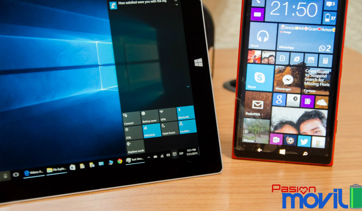 Surface 3 viene con Windows 10 de fabrica