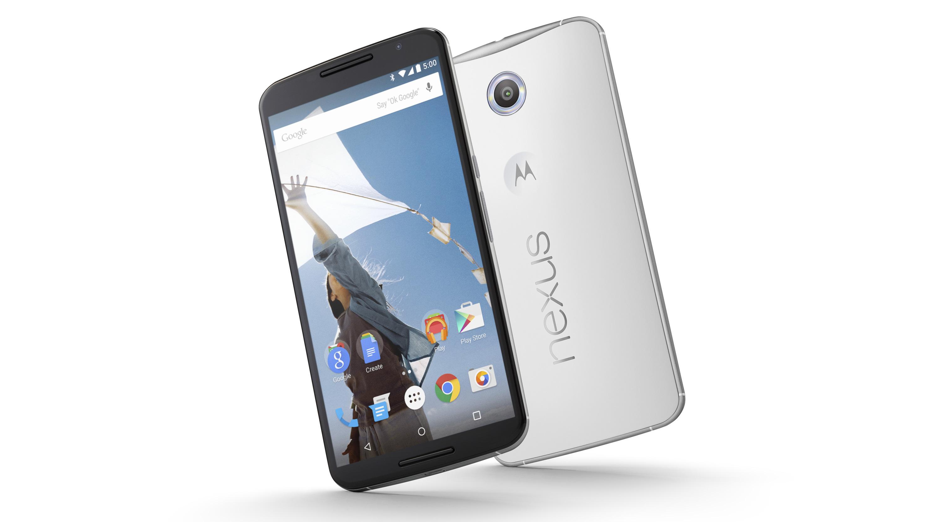 Nexus 6 hereda el diseño del Moto X 2014)