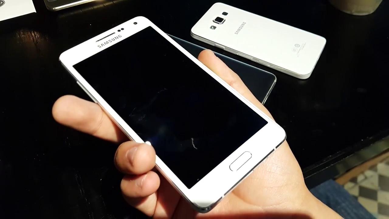 Galaxy A7 presenta un balanceado hardware