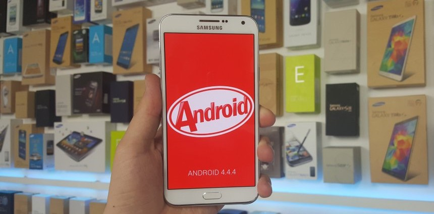 Android 4.4 KitKat incluye el Galaxy E5