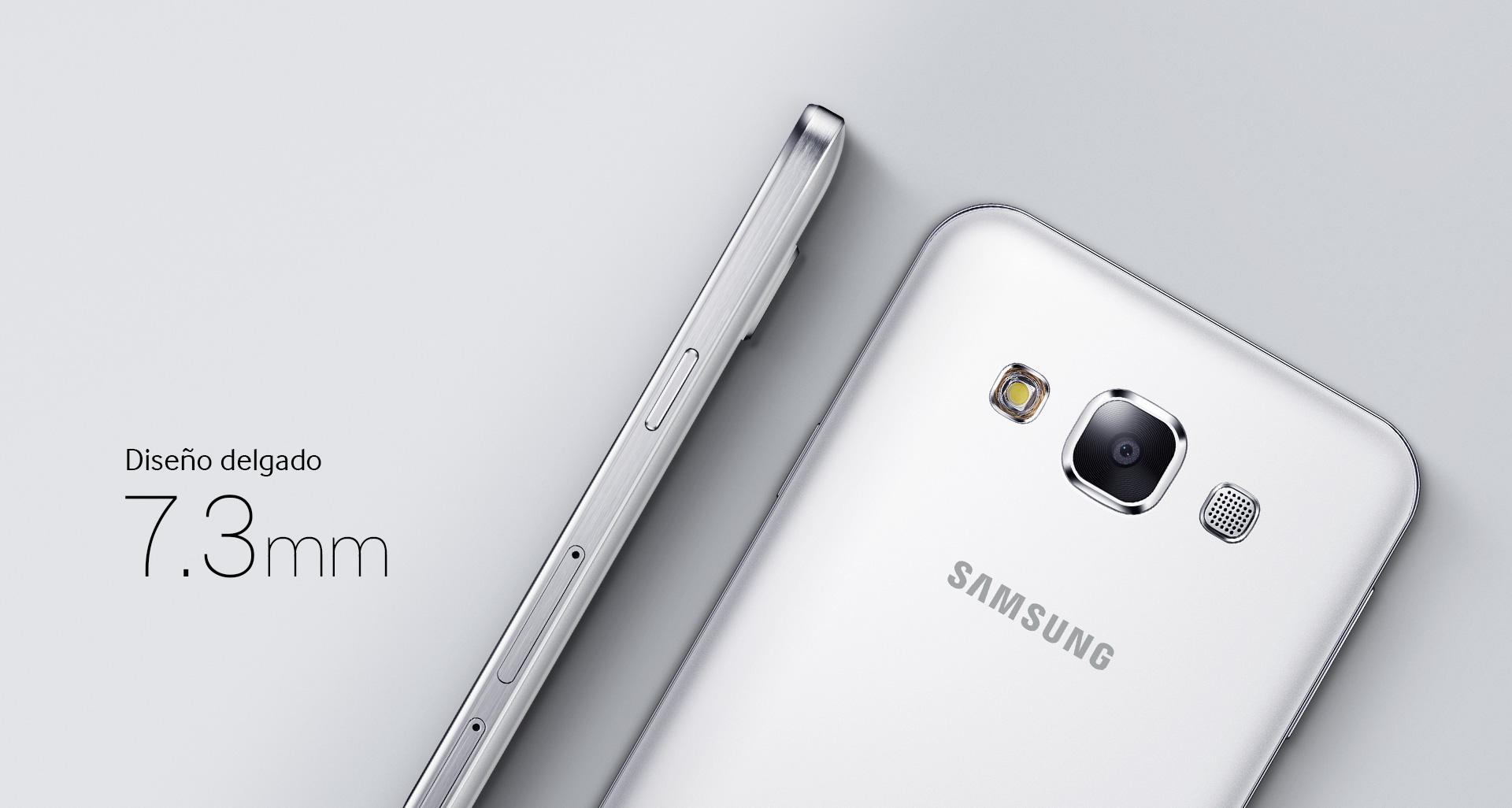 Samsung Galaxy E5 presume un esbelto diseño