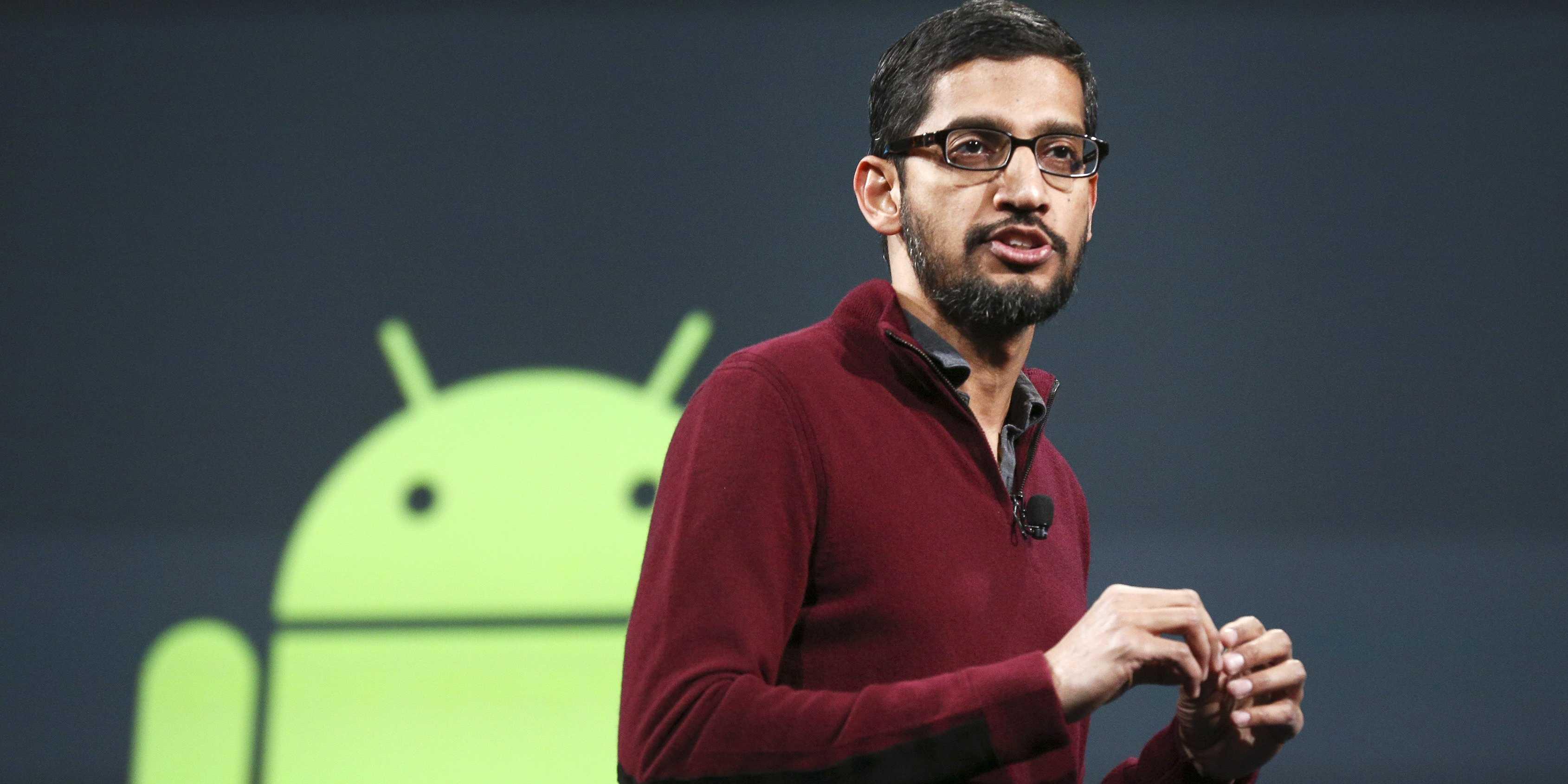 Sundar Pichai pasa a ser el nuevo CEO de Google