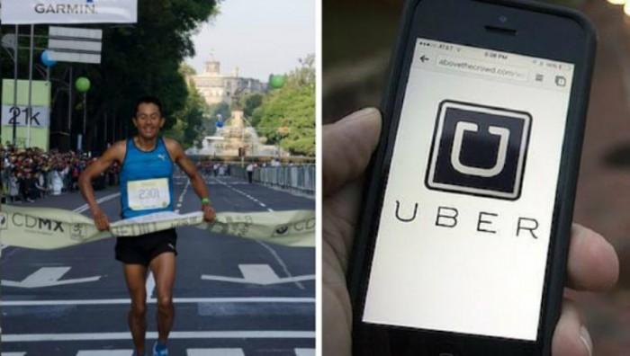 Uber y maraton CDMX 30 de agosto