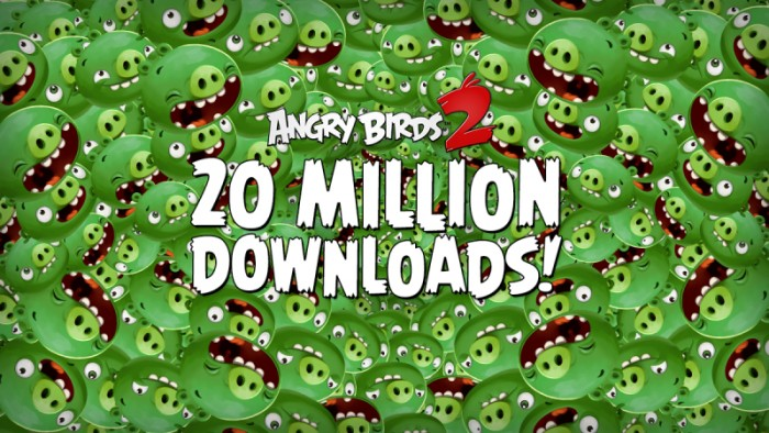 angry birds 2 20millones