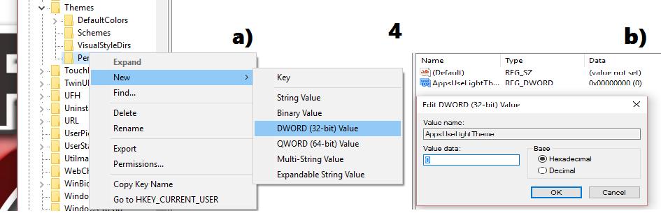 como activar el tema oscuro en windows-tutorial-3