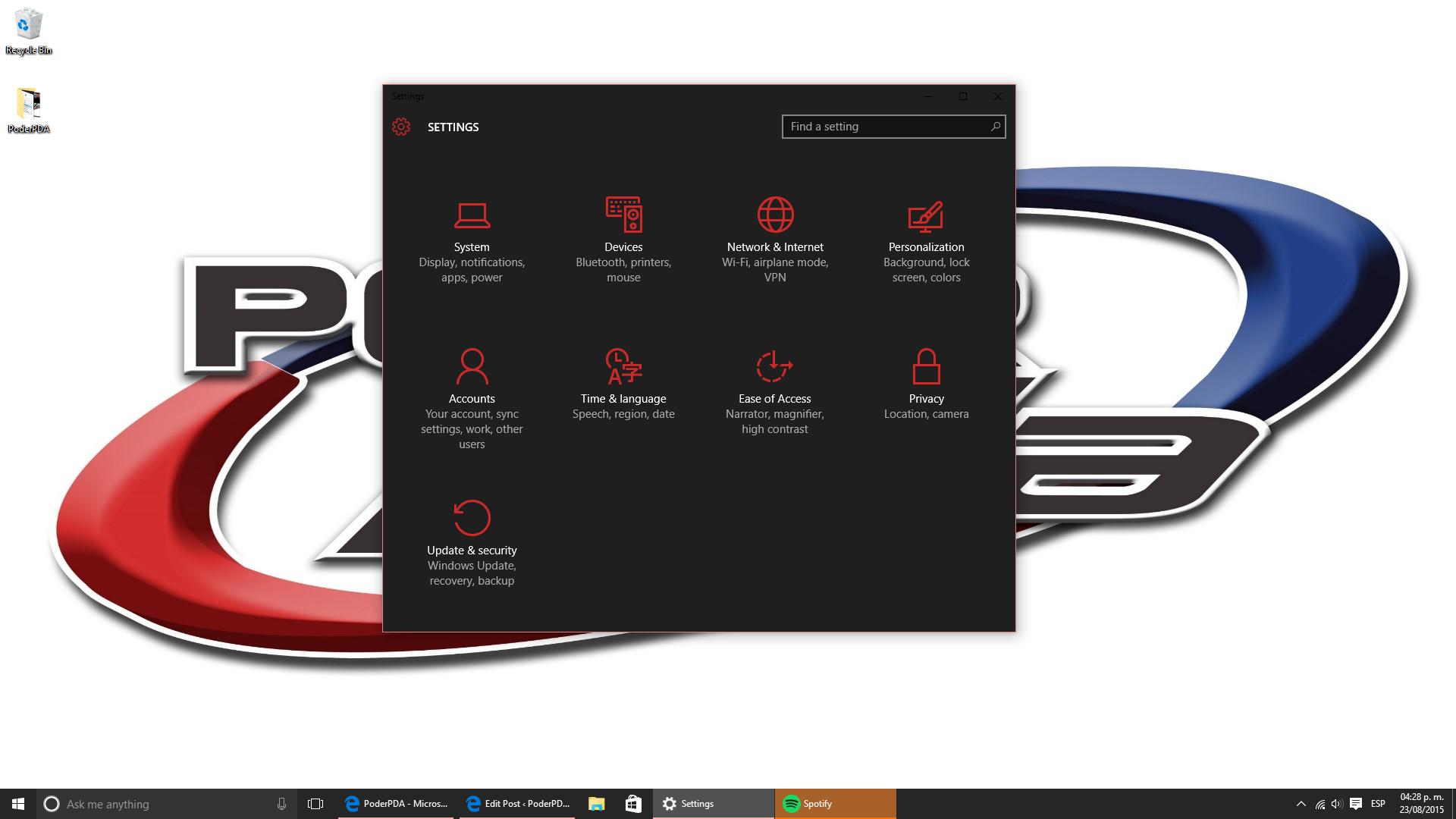 como activar el tema oscuro en windows-tutorial_poderpda