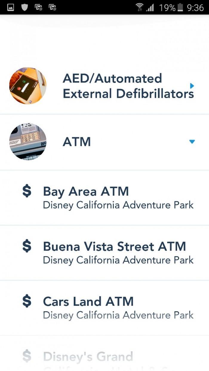 disneyland app servicios