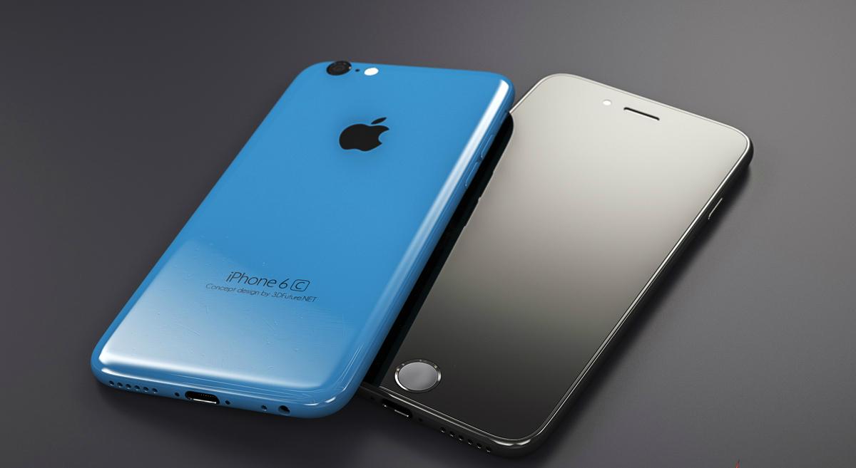 Concepto del iPhone 6C