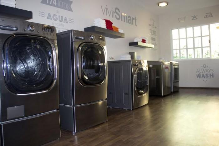 lg smart home mx lavadoras