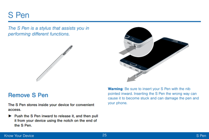 s pen galaxy note 5