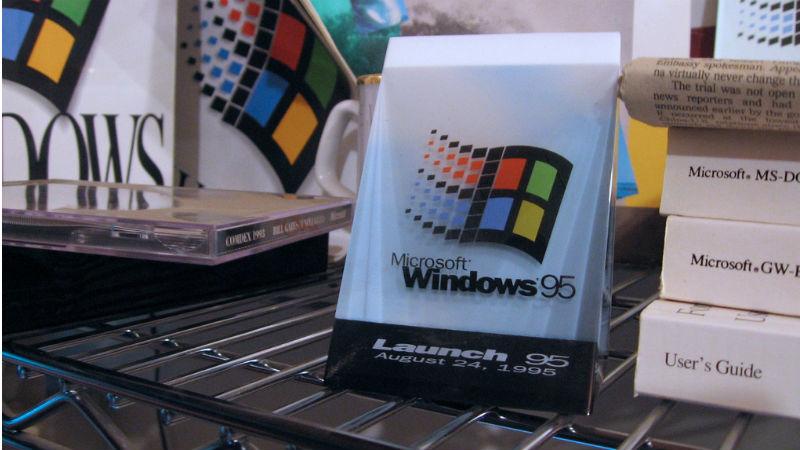 windows-95 cumple 20 años y 20 curiosidades