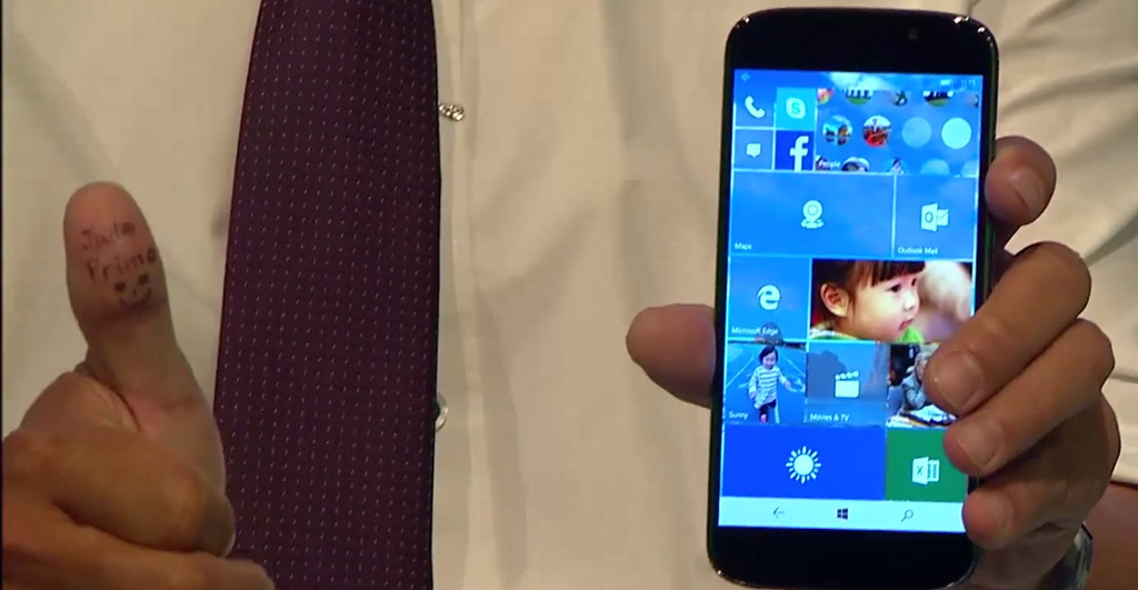 Acer Jade Primo con Windows 10 Mobile y Continuum