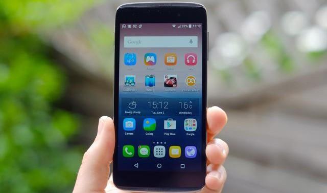 """Android 5.0.2 Lollipop de serie en el Alcatel OneTouch Idol 3 (4.7"""")"""