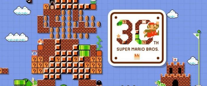Aniversario 30 Super Mario Bros