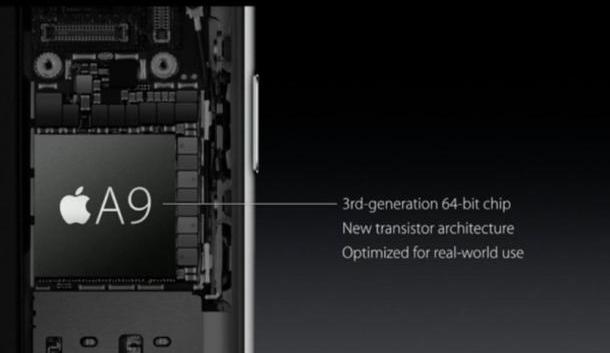 Apple A9 y M9 llegan a mejorar el iPhone