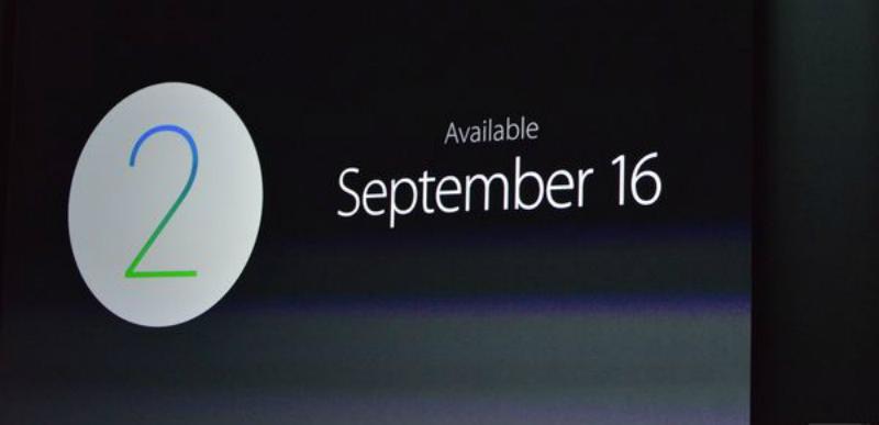 Watch OS 2.0 estará disponible el 16 de septiembre