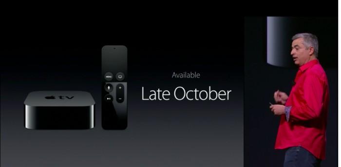 Apple tv disponibilidad