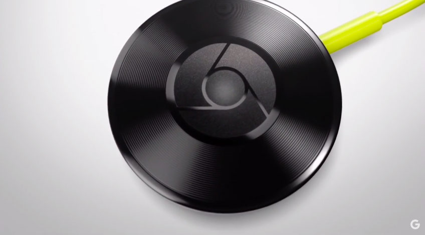 Chromecast Audio, enfocado a la música.
