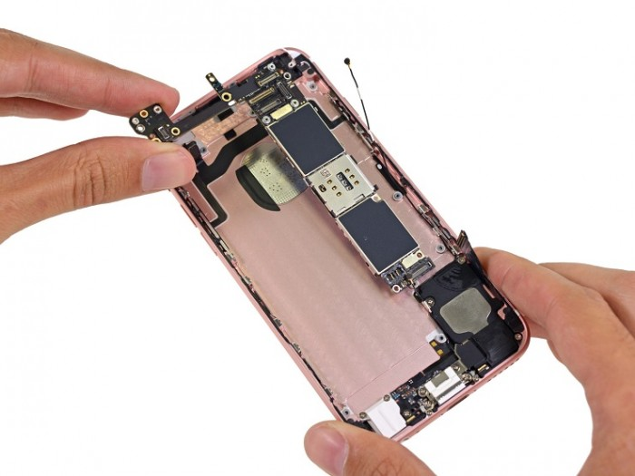 Componentes iPhone 6s rosa
